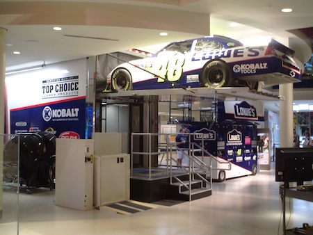 NASCAR Hall of Fame Transporter