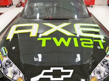 No. 1 AXE Twist Chevy - Before Heat