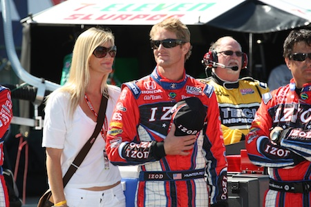 Ryan Hunter Reay and Beccy Gordon