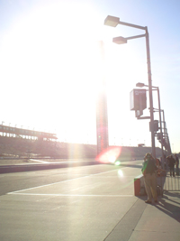 Auto Club Speedway (credit: The Fast and the Fabulous)