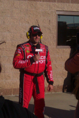 Tony Stewart chats with SportsCenter