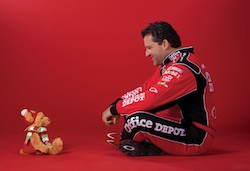 Teddy B. Caring and Tony Stewart