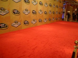 The red carpet for the 2010 NASCAR Sprint Cup Series Awards Ceremony in Las Vegas, NV (credit: the fast and the fabulous)