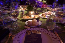 My table at the NASCAR Awards Ceremony