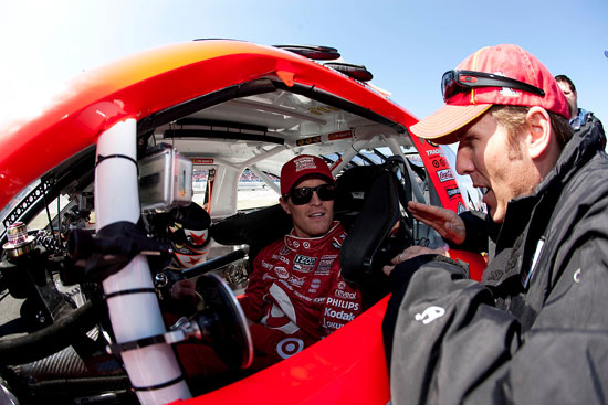 Jamie McMurray and Scott Dixon swap rides