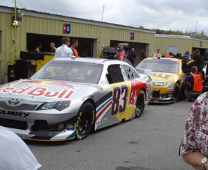 New Hampshire Motor Speedway Garage