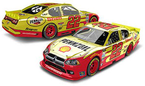 1:24 Action Racing Collectibles A.J. Allmendinger 2012 Shell Pennzoil #22 Charger diecast